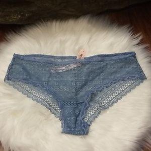 Victoria Secret Lace Sheer Cheeky Underwear S